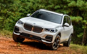 Picture 2018, BMW X5, crossover, XDrive40i