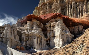 Picture rocks, CA, USA, Red Rock Canyon
