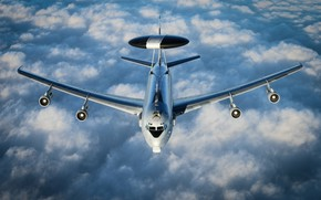 Picture Scout, AWACS, Boeing E-3 Sentry