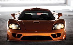 Picture lights, Saleen, supercar, front view, 2005, Twin Turbo, Saleen S7