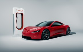 Picture Roadster, Tesla, 2020