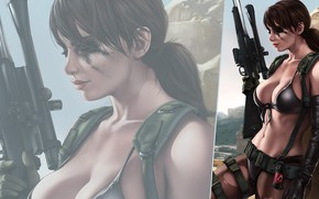 Picture girl, weapons, the game