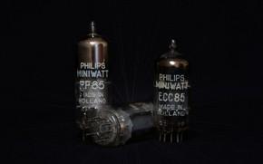 Wallpaper Philips, radio tube, tubes, electron tube