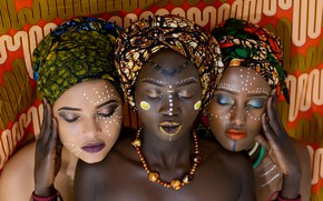 Picture girl, girls, Style, Africa, Africans