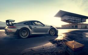 Picture auto, the sun, 911, Porsche