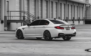Picture bmw, backside, f90