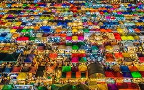 Picture light, area, tent, market