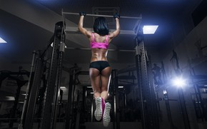Picture back, figure, pose, trainer, back, workout, gym, fitness, gym, training, gym