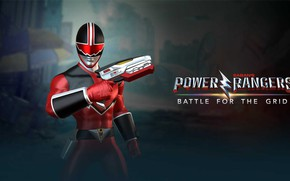 Picture game, Power Rangers, nWay, Power Rangers: Battle for the Grid, Eric Myers, Quantum Ranger