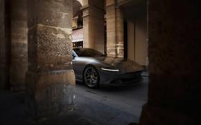Picture the city, Ferrari, supercar