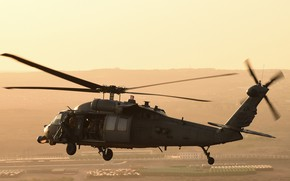 Picture UH-60, Black Hawk, American multi-purpose helicopter, Sikorsky Aircraft