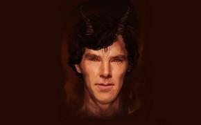 Picture dragon, fantasy, art, The hobbit, Benedict Cumberbatch, Smaug