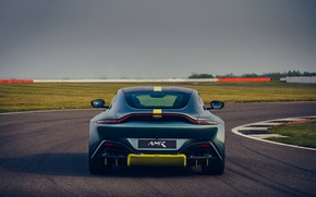 Picture Aston Martin, coupe, Vantage, feed, Manual transmission, AMR, 2019, 510 HP, 4 L., V8 twin-turbo