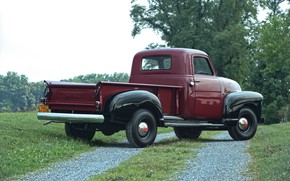 Picture 150, pickup, side, GMC, 1949, Pickup Truck, GMC 150