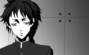 Picture look, guy, Sayonara Zetsubo Sensei