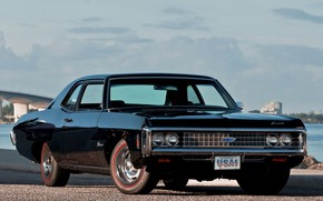 Picture Chevrolet, Classic car, Biscayne, Old muscle classic