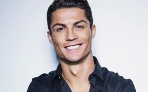 Picture look, smile, male, shirt, Cristiano Ronaldo