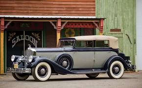 Picture Vintage, Sedan, Retro, Pierce-Arrow
