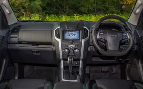Picture interior, pickup, Isuzu, D-Max, 2019, UK version, XTR