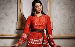 Picture girl, smile, beautiful, model, pose, indian, actress, celebrity, bollywood, Kiara advani
