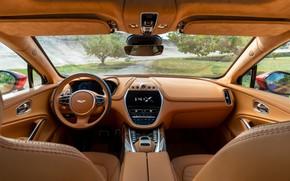 Picture Aston Martin, Salon, Interior, Aston Martin, DBX