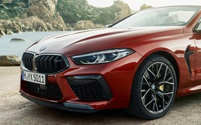 Picture BMW, convertible, the front part, 2019, BMW M8, M8, F91, M8 Competition Convertible, M8 Convertible
