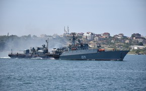 Picture suzdalets, small anti-submarine ship, project 1124m