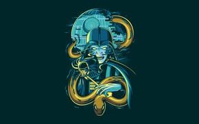 Picture Star Wars, Fantasy, Art, Darkness, Snake, Vector, Harry Potter, Background, Illustration, Minimalism, Animal, Voldemort, Angga ...