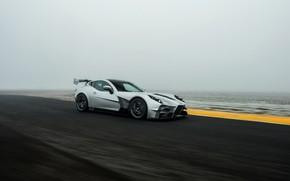 Picture fog, speed, supercar, Ginetta, Akula, V8, 2019, 600 HP