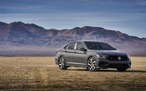Picture plain, Volkswagen, Jetta, sedan, GLI, 2019