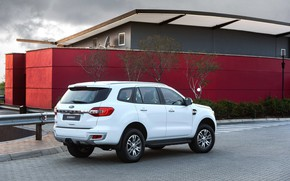 Picture Ford, Everest, 2015, XLT, the building