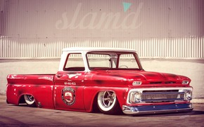 Picture Chevrolet, Old, Tuning, Pickup, C10