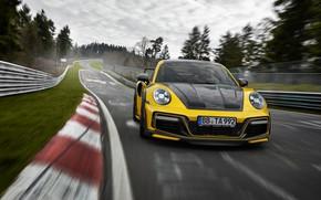 Picture Porsche, racing track, TechArt, 2021, GTstreet R