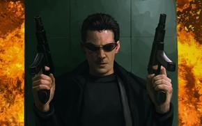 Picture Matrix, Neo, Matrix, Keanu Reeves