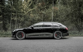 Picture Audi, TDI, side view, ABBOT, universal, Before, 2019, Audi S6