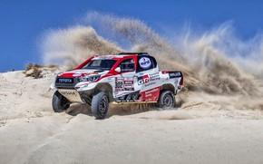 Picture Sand, Auto, Sport, Machine, Toyota, Hilux, 302, Rally, SUV, Rally, Toyota, Hilux, Toyota Hilux, Toyota …