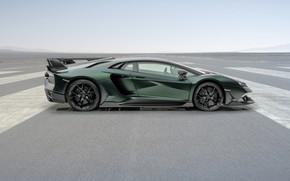 Picture Lamborghini, supercar, side view, Aventador, Mansory, 2020, SVJ, Cabrera