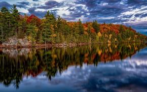 Picture autumn, Ontario, Whitewater, Garden of Eden