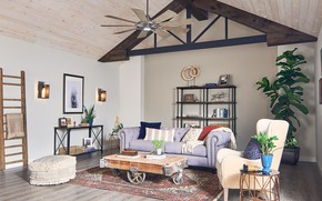 Picture design, room, interior, living room, modern farmhouse