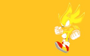 Picture shoes, silhouette, gloves, gold, Supersonic, Supersonik