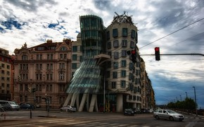 Picture Prague, Czech Republic, The dancing house, The dancing house