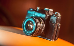 Picture photo, the camera, lens, Zenit