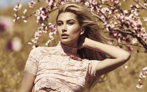 Picture model, spring, Hailey Baldwin, Hailey Rhode Bieber