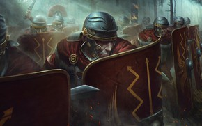 Picture Soldiers, Warriors, Shield, Army, Legion, Legion, Soldier, Shield, Video Game, Total War: Rome II, Armored, …