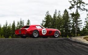 Picture Auto, Retro, Machine, Ferrari, Ferrari, GTO, 250, Ferrari 250 GTO, Gran Turismo, Side view, Ferrari …