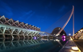Picture Spain, Valencia, The city of arts and Sciences