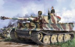 Picture Germany, tank, jason, the Wehrmacht, Tiger I, Pz.Kpfw.VI, panzerwaffe, Heavy, Sd.Car.181, Pz.Kpfw.VI Ausf.E, Pz.Kpfw.VI Ausf.E …