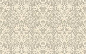 Wallpaper background, pattern, Flower, Design, vintage, beige, Vintage, Background, Pattern, Floral