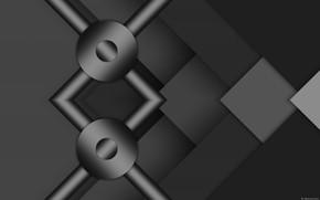 Picture grey, background, figure, gradients