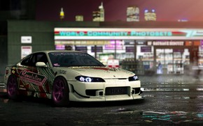 Picture Auto, The game, Machine, Silvia, Nissan, NFS, Avalon, Nissan Silvia, Need For Speed, by Mikhail …